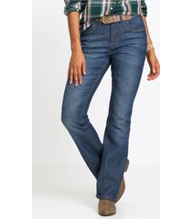 stretch thermojeans, bootcut