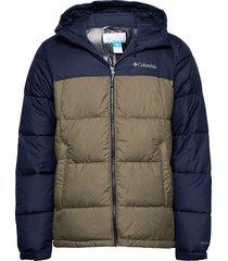 pike lake™ hooded jacket gevoerd jack groen columbia