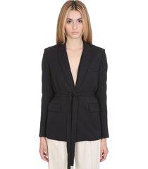 iro better jacket in black wool