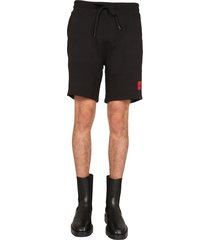 hugo boss shorts with logo