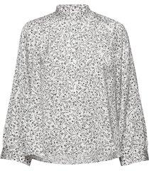 mila blouse blouse lange mouwen wit twist & tango