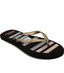 chanclas p/damas  no fear  irina-40-co-35 marron