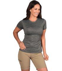 tech t-shirt eman gris acero peak performance