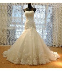 lace wedding dresses mermaid,wedding gown,bridal gown cheap ivory/white