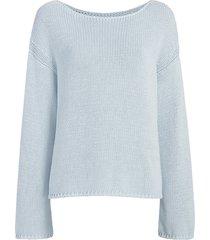 draped knit sweater