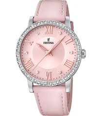 reloj boyfriend collection rosa festina