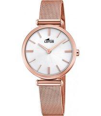 reloj 18540/1 blanco lotus mujer bliss
