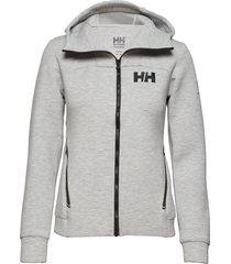 w hp ocean swt jacket hoodie trui grijs helly hansen