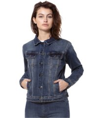 lola jeans the classic denim jacket