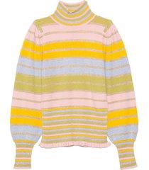 crosby mockneck pullover in pastel party