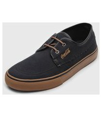 sapatênis coca cola shoes conforto preto