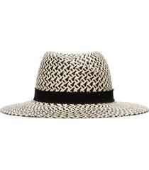 maison michel chapéu panamá virginie - neutro