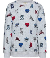 jared sweat-shirt trui grijs kenzo