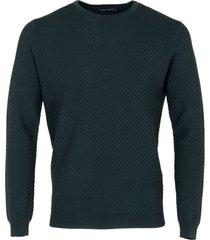 antony morato sweater slimfit viscose blend dark bottle 4065