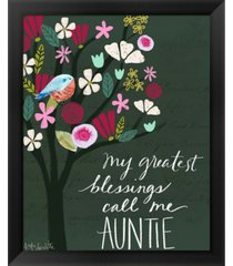 auntie by katie doucette framed art