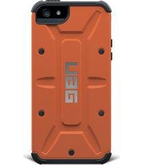 estuche carcasa urban armor gear uag oem modelo outland para iphone 6 - naranja
