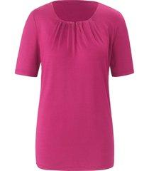 shirt ronde hals en korte mouwen van uta raasch roze