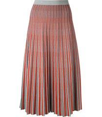 jacquard knit skirt