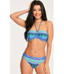 seascape underwire padded bandeau