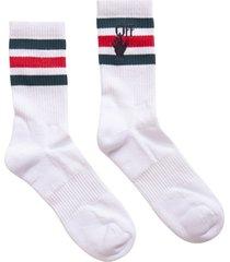off-white hand logo mid socks