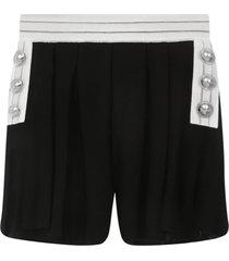 balmain paris shorts