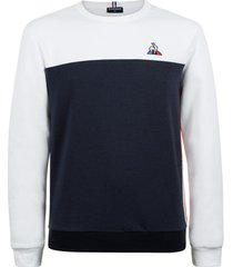 fleece jack le coq sportif saison 1 crew sweat