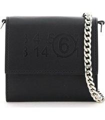 wallet logo print chain