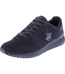 zapatos tenis beverly hills polo club azul navy