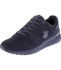 zapatos tenis beverly hills polo club azul navy