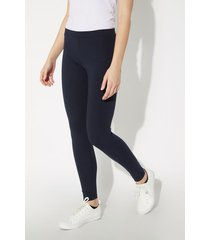 leggings basic in cotone