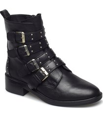 zauria shoes boots ankle boots ankle boots flat heel svart aldo