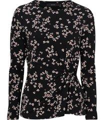 topp vmbloom aop ls blouse