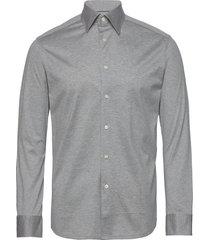 jersey overhemd business grijs eton