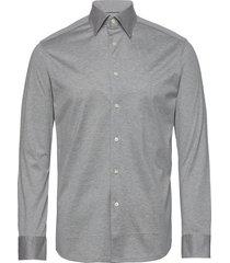 jersey shirt overhemd business grijs eton