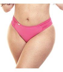 calcinha praia fio duplo estigma moda laterais borboleta rosa