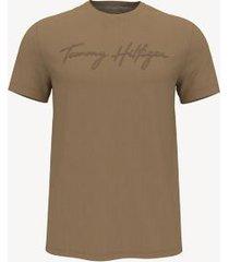 tommy hilfiger essential signature t-shirt champagne toast - xxl