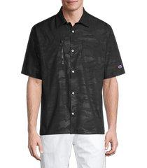 champion men's eco warrior standard-fit shirt - black - size xl