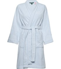 lrl essential the greenwich robe morgonrock blå lauren ralph lauren homewear