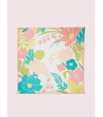 kate spade new york tropical floral square scarf