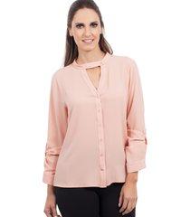 camisa love poetry rosa - rosa - feminino - dafiti