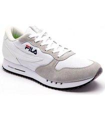 zapatilla gris fila euro jogger  hombre