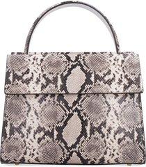 nico giani eris python print leather handbag