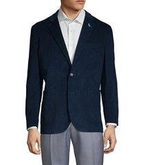 textured notch jacket