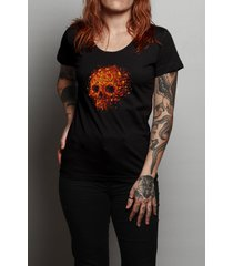 camiseta autumn skull