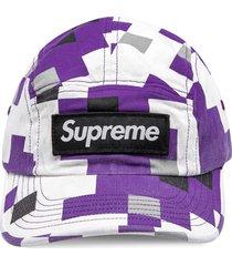 supreme military camp cap - white