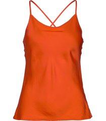 natacha t-shirts & tops sleeveless orange rabens sal r