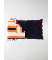 colville striped print scarf