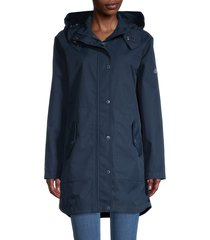 barbour women's mainlander jacket - navy - size 6