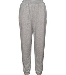 cuffed pant sweatpants mjukisbyxor grå adidas originals