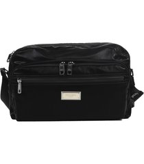 dolce & gabbana black messenger bag